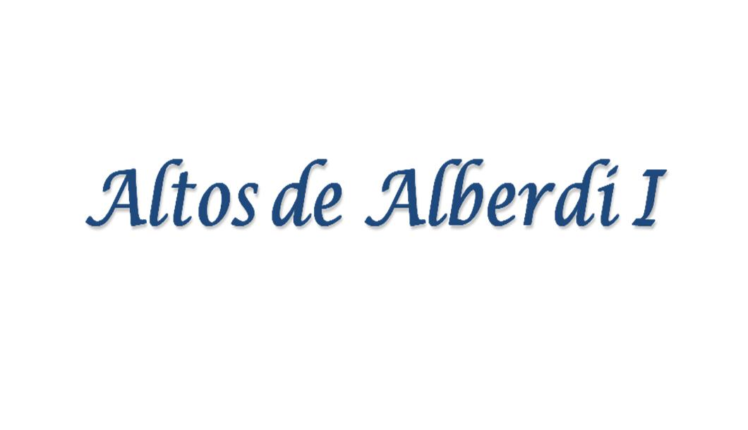 Altos de Alberdi I