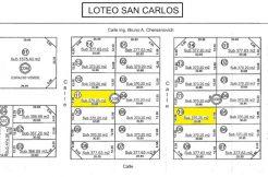Terreno en loteo San Carlos