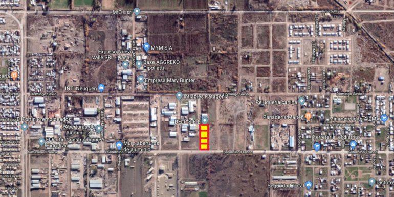 terrenos en parque industrial